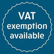 VAT Exemption Available