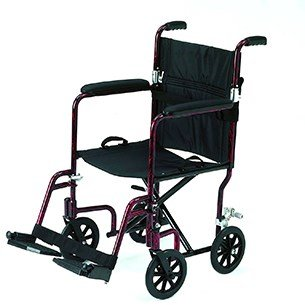 RMA 1247 'Foldaway' Attendant Wheelchair with Storage/Carrying Bag