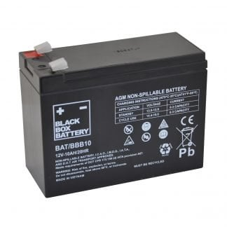 BBB10 Lead acid replacement scooter battery