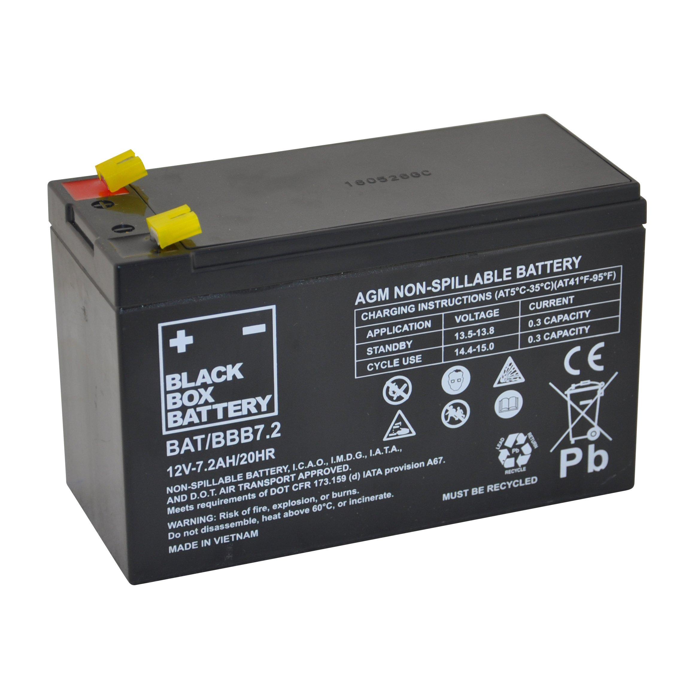 12v 7 2ah Bbb Sealed Lead Acid  Agm  Battery