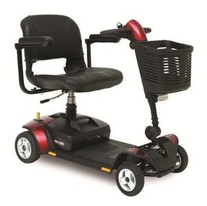 Pride Elite Traveller 4 LX Wheels