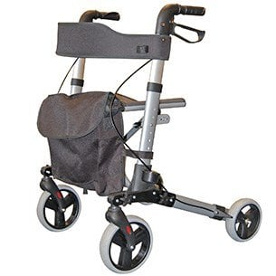 Roma City Walker - Lightweight Folding Rollator