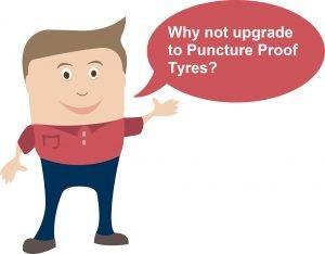 Chappie Speech Bubble Left - puncture upgrade