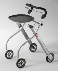 Lets Go Indoor Rollator - Silver