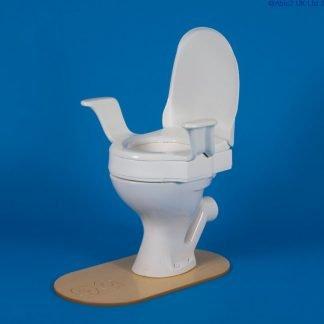 "Nobi Toilet Seat - lift (with 10cm (4"""") raised se"