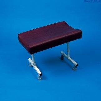 Contoured legrest - fixed