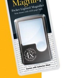 Pocket LED Magnifier