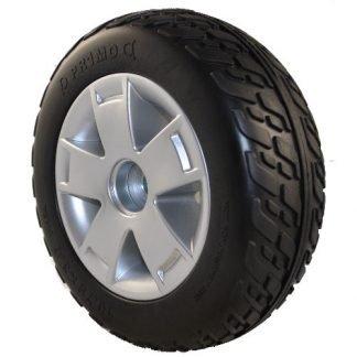 """Pride Colt Twin Rear Wheel Assembly (10.75"""" Foam Tyre)"""