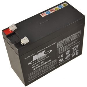 12V 10Ah MK Sealed Lead Acid (AGM) Mobility Scooter Battery