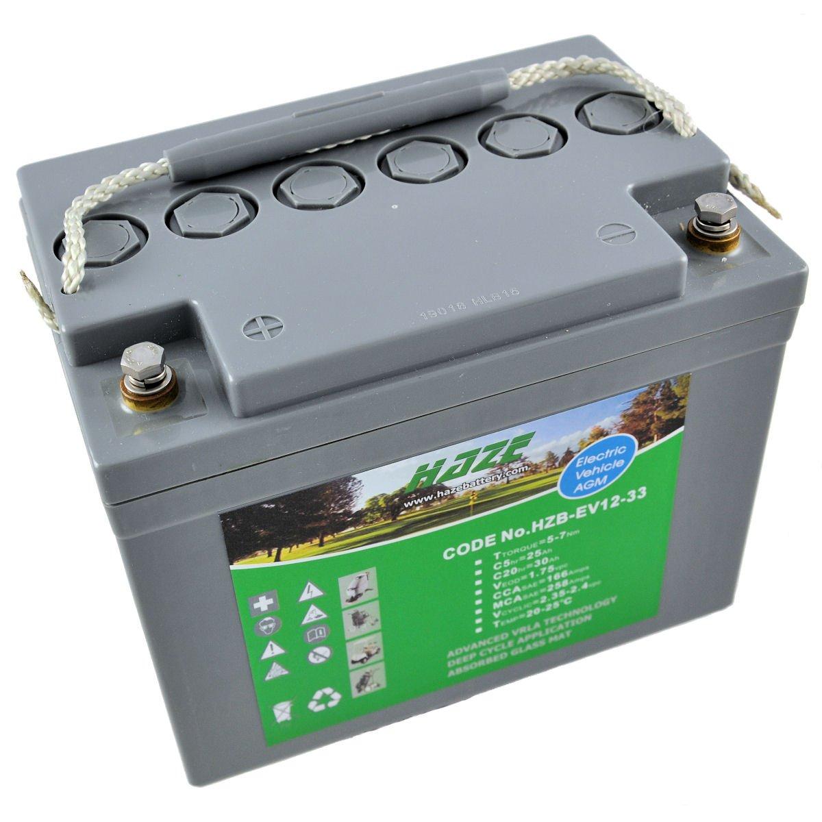 12v 34ah haze sealed lead acid agm mobility scooter battery mobility pitstop. Black Bedroom Furniture Sets. Home Design Ideas