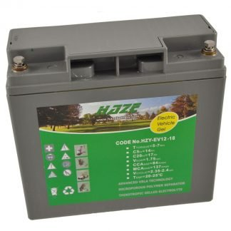 12V 18Ah HAZE GEL battery for Mobility Scooters & Powerchairs