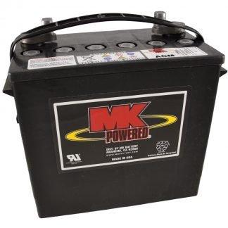 12V 55Ah MK Sealed Lead Acid (AGM) Mobility Scooter Battery