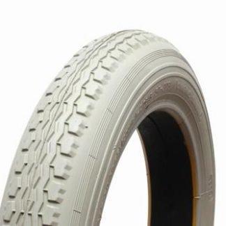 12 1/2 x 2 1/4 Grey Manual Chair Tyre