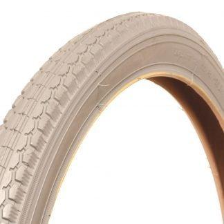 26 x 1 3/8 (37-590) Grey Manual Chair Tyre