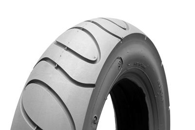 300 x 8 Infilled Cheng Shin/Primo Grey Puncture Proof Scallop Tyre