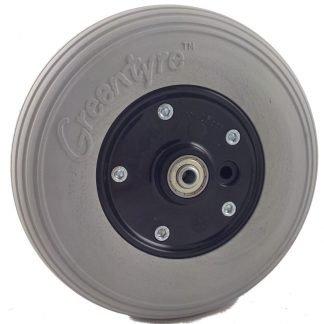 "8"" x 2"" (200mm x 50mm) Powerchair Castor Wheel with PU Tyre"