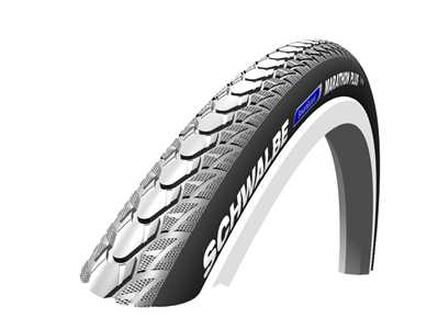 24 x 1.3/8 Marathon Plus Grey Wheelchair Tyre