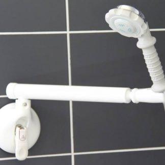 Mobeli Shower Head Positioner With Swivel Arm