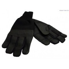 Revara Sports Leather Summer Glove (Black)