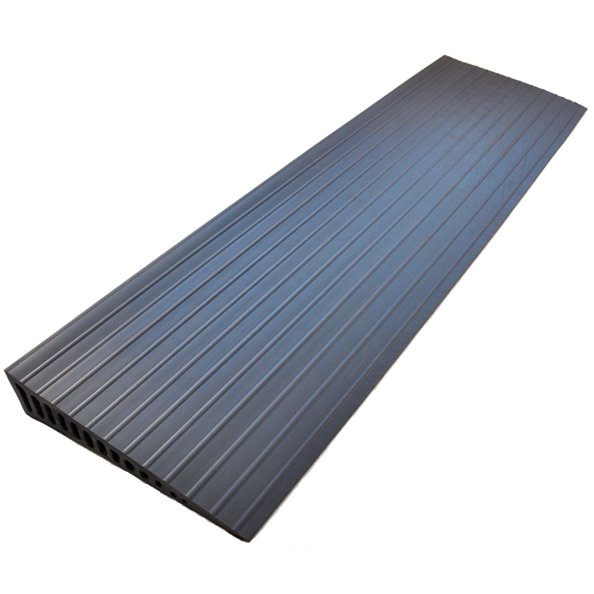 Grey Rubber Door Wedge Ramp Access Ramps From Mobility